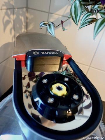 Test Bosch OptiMUM Rezension Bewertung Küchenmaschine
