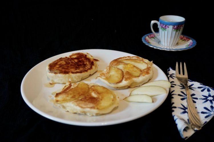 Foodistini Hefepfannkuchen Apfel Rezept