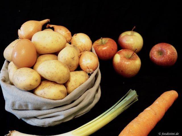 Foodistini Gesunde Reibekuchen Kartoffel Karotte