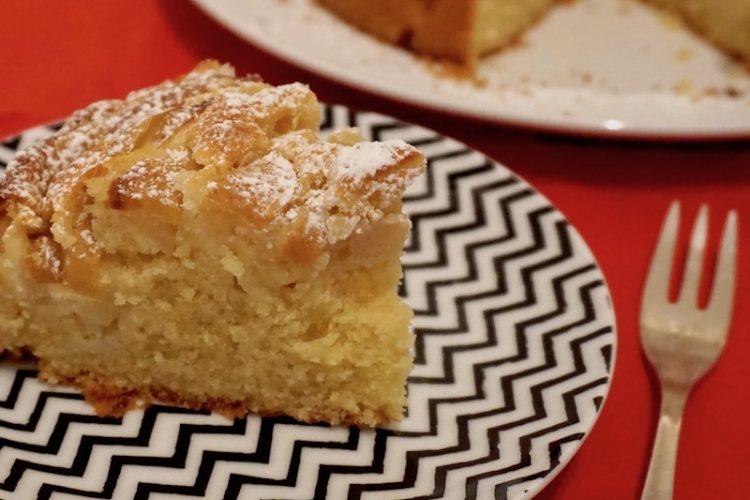 Mandel Apfel Kuchen Foodistini Rezept