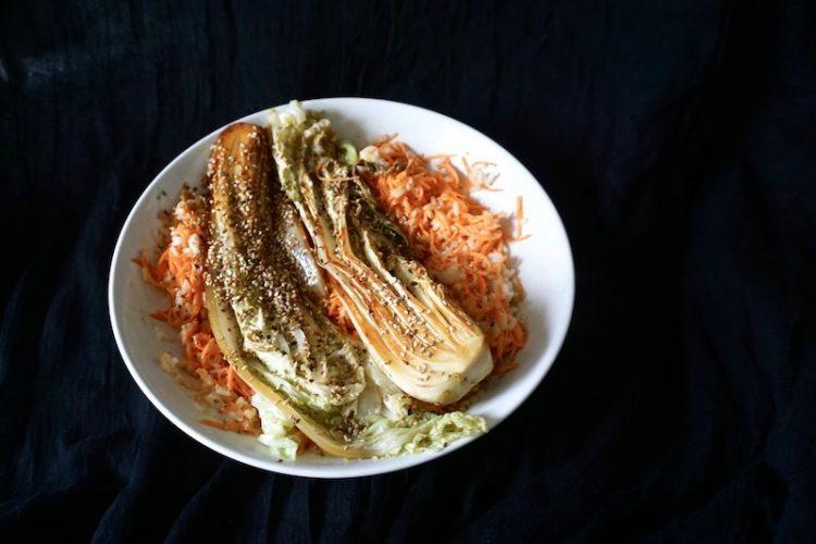 Foodistini Rezept Chinakohl Karotte Sesam Reis