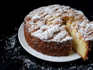 Foodistini Rezept Mandel-Apfelkuchen