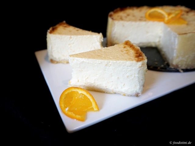 Foodistini Orangen Cheese Cake Rezept Recipe