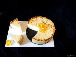 Foodistini Orangen Cheese Cake Rezept Recipe