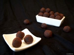 Foodistini vegane Pralinen Schokolade