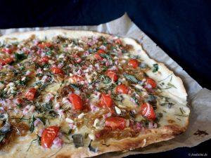 Foodistini Rezept Flammkuchen