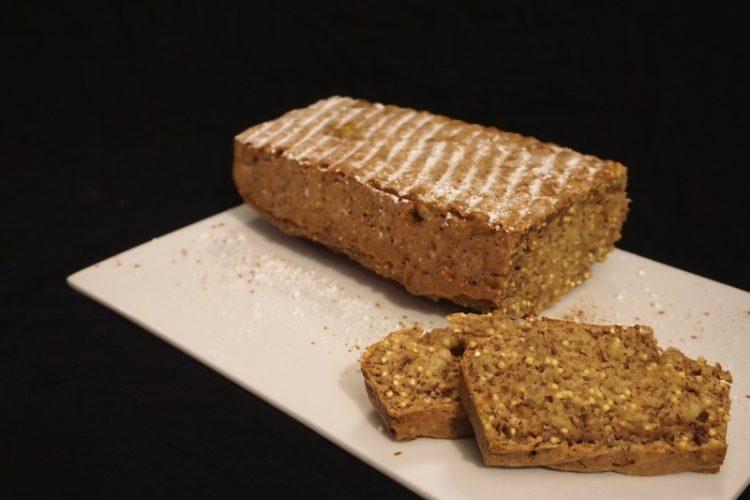 Foodistini knuspriges veganer Bananenbrot