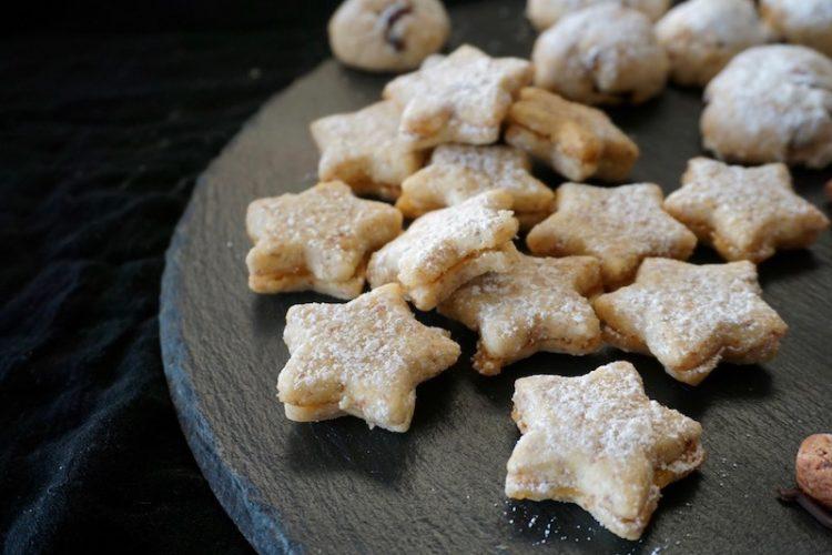Foodistini Plätzchenliebe Orangen Mürbeteig Sterne
