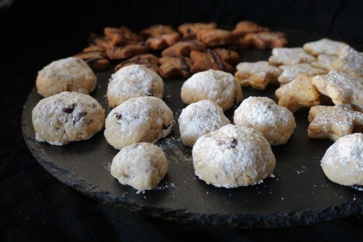 Foodistini Plätzchenliebe Stollenkonfekt mit Chranberry und Mandel