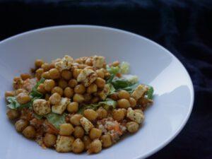 Rezept Karotten Kichererbsen Bowl