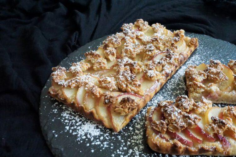 Foodistini Rezept Pfirsich Tarte